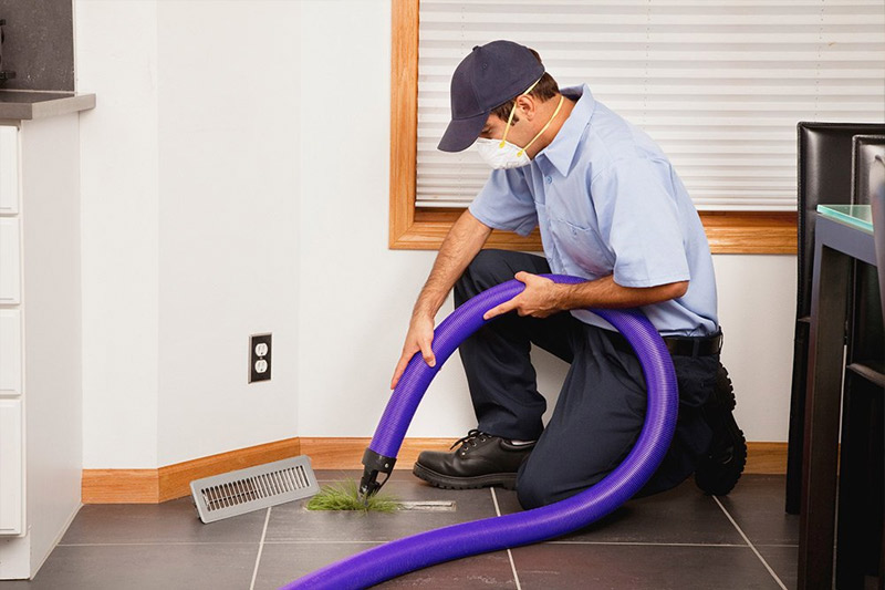 air duct cleaning process