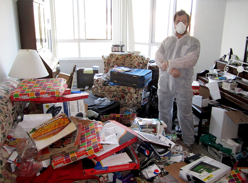 hoarding cleanup technician