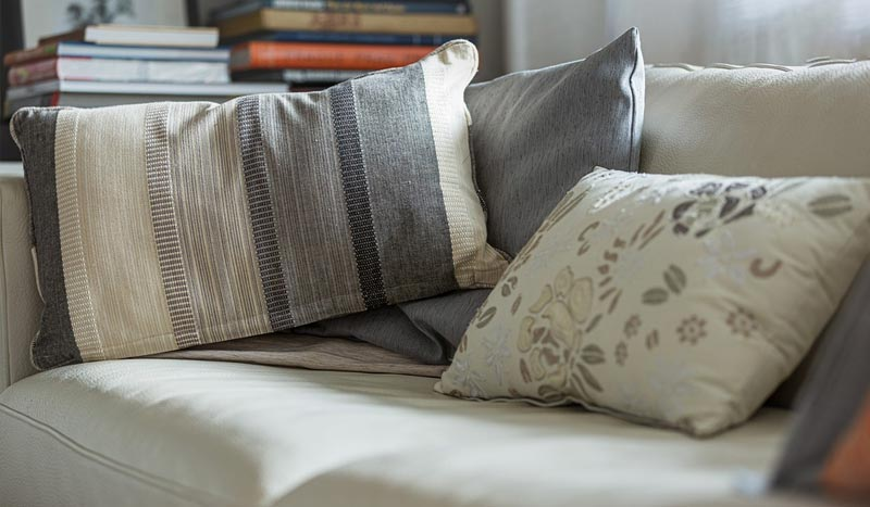 Pillow and couch upholstery cleaning services