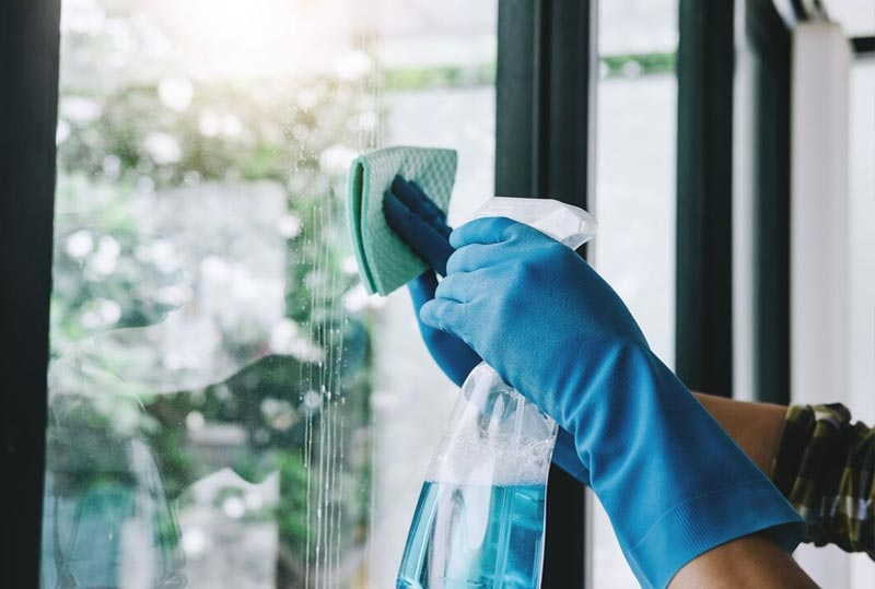 residential window cleaning in Sonoma county