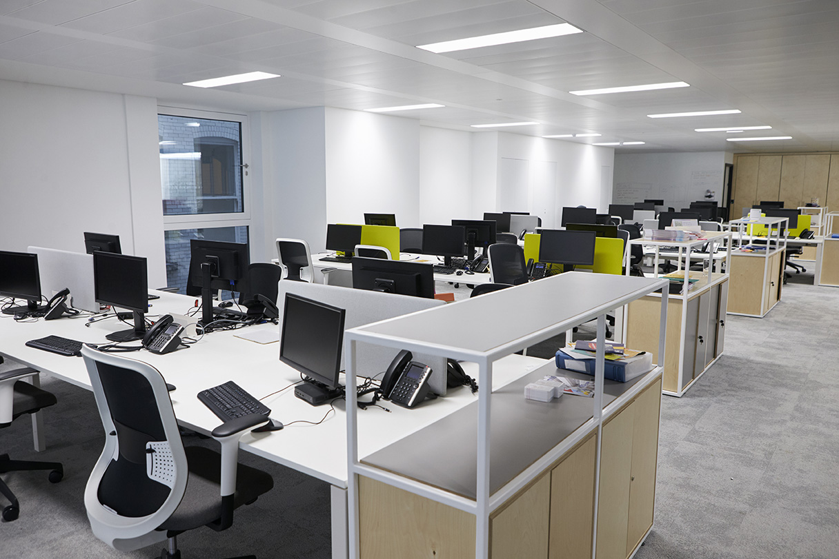 disinfection application for offices
